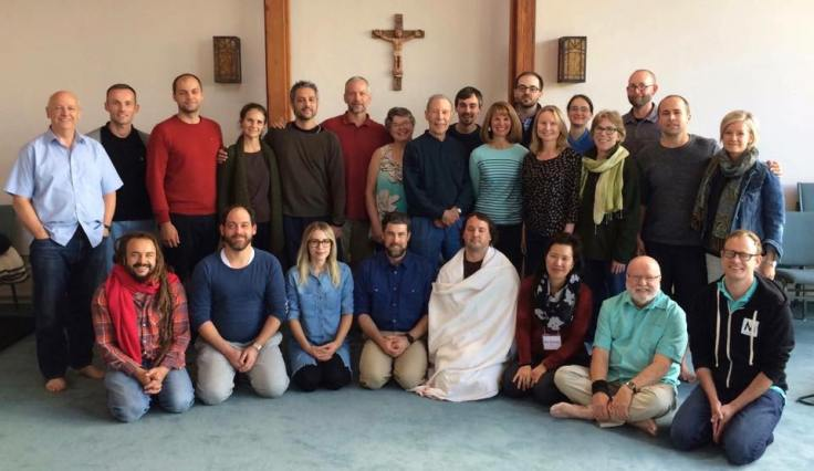 New Contemplatives Exchange group photo