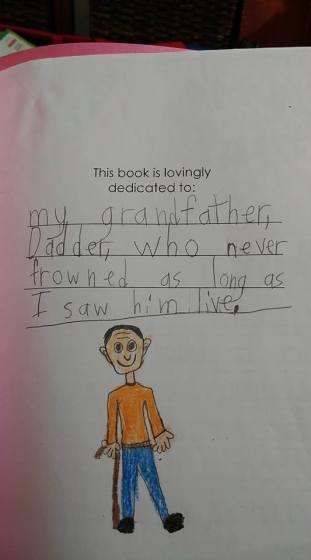 evelyn dadder note