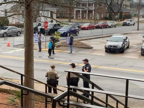 Westboro protesters